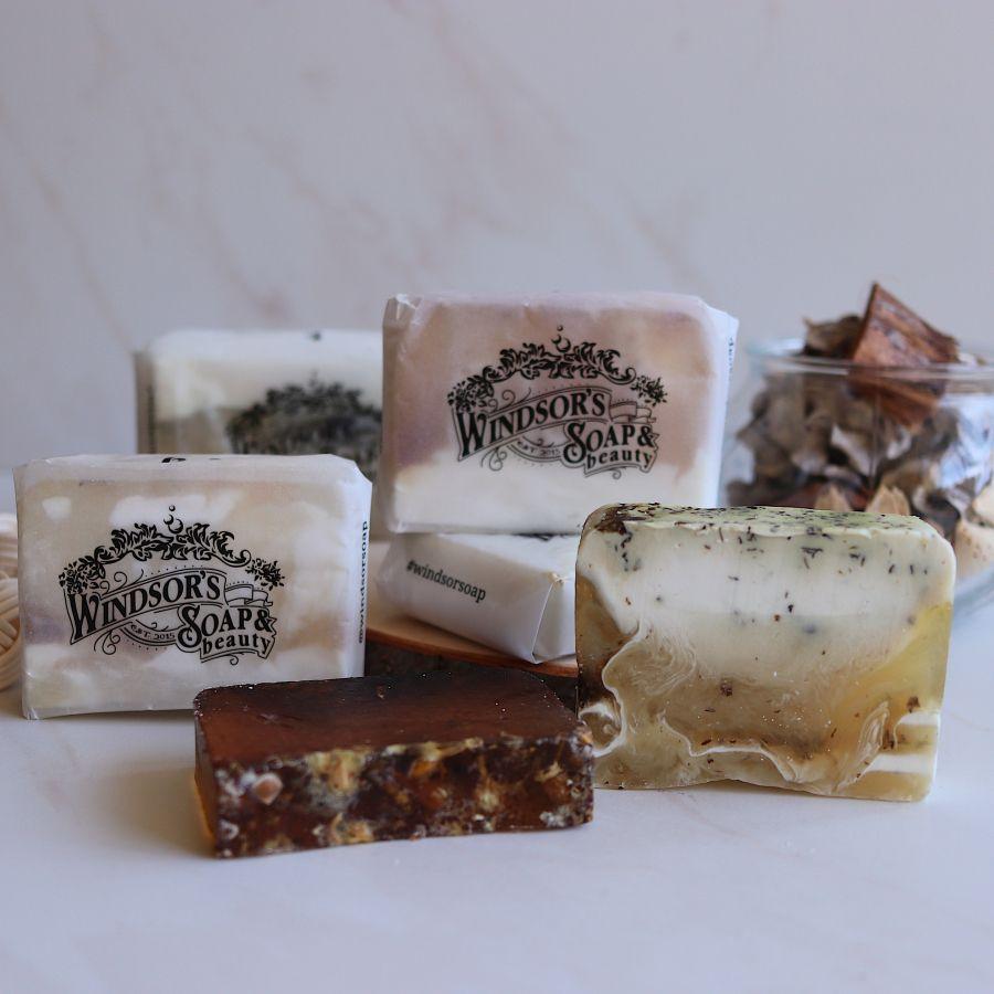 Набор из 5-ти кусочков мыла ручной работы фото